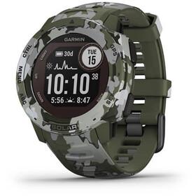 Garmin Instinct Solar Camo GPS Smartwatch, green